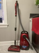 Red Bissell DigiPro Bagged Canister Vacuum Cleaner Model 6900 Works