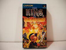 The King of Dragons Nintendo Super Famicom SFC Jap NTSC