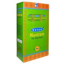 180g Satya mantram incensi india profumo risiedono Decorazione aroma