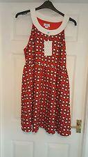 BNWT Talla 16 Collectif Brillo & Swing Dress 60s Rockabilly Estilo Hermoso