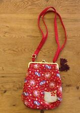 Hello Kitty Red Clasp Purse