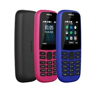 Nokia 105 2019 Mobile Phone Random Color