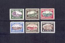 1928 Latvija, Lettland, Latvian stamps - 10 ANNIV. OF REPUBLIC - Mi.# 132/7