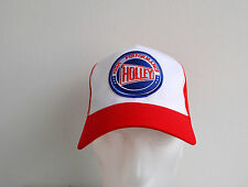 Holley Carbs,Trucker Hat,High Performance,Red,Racing,Muscle Car,V8,Old School