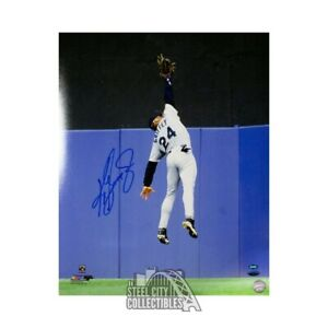 Ken Griffey Jr Autographed Seattle Mariners 16x20 Photo - Tristar COA (Vertical)