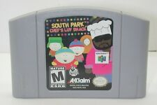 Nintendo N64 South Park Chef's Luv Shack Game Cartridge. Works. R13546