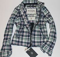 NWT ABERCROMBIE & Fitch Guys Mens Vintage Classic Plaid Hamilton Jacket $99.50