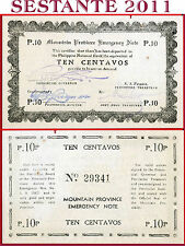 (com) Philippines - 10 Centavos 1942 Mountain Province Emergency - P S592 - Unc