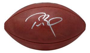 Tom Brady Signed Buccaneers Wilson The Duke SB LV Football Fanatics COA 197