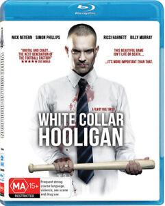 White Collar Hooligan (Blu-ray, 2013)--free postage