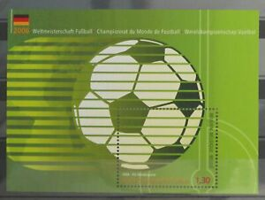 (25p) Belgien ** FUSSBALL-WM 2006 Deutschland-Block Mi 110 -Soccer   MNH