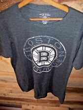 Old Time Hockey NHL Boston Bruins Hockey 1924 Shirt Men's Medium VGC!