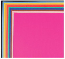 """School Smart 1485739 Railroad Board, 4-ply Thickness, 22"""" x 28"""", Assorted Color"""