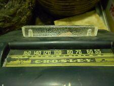 CROSLEY- RADIO IN BACHELITE CON MANIGLIA IN LUCITE-ANNI '40/50