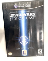 Star Wars: Jedi Knight II -- Jedi Outcast NINTENDO GAMECUBE GAME COMPLETE TESTED