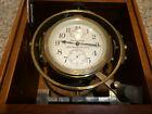 Vintage Hamilton US NAVY Marine Chronometer model 22 / 21 Jewel Dated 1942 Runs