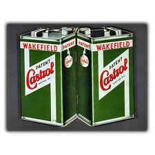 CASTROL MOTOR OIL METAL SIGN WALL PLAQUE Vintage Advert art print