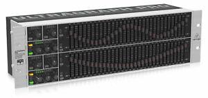Behringer FBQ6200HD 2 x 31 Band Equalizer Grafik EQ Feedback Detector Limiter