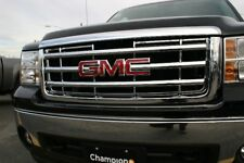 2007-2013 GMC Sierra Chrome Grille Grill Insert Overlay Trim