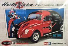 Volkswagen Beetle Harley Quinn VW Käfer Snap 1:24 Model Kit Polar Lights POL944