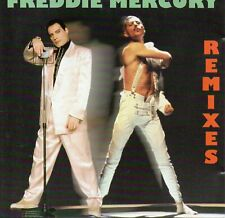 """FREDDIE MERCURY """"REMIXES"""" RARE CD PRINTED IN HOLLAND / QUEEN  - NILE RODGERS"""