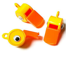 DUCK WHISTLE TOY + EYES - FOR KEYS, NECKLACE - KIDS COOL PRESENT DUCKIE GIFT