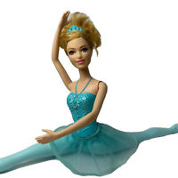 2013 Princess Ballerina Barbie Blonde Mattel Doll Dance Dress Flexible Fashion