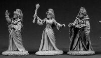 3 x FEMALE MAGES - DARK HEAVEN LEGENDS REAPER miniature jdr rpg magicien 03343
