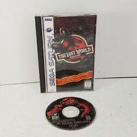 Sega Saturn Jurassic Park The Lost World Complete (CIB) Video Game Tested