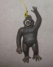 Vintage mini monkey ape gorilla King Kong on a stick Jiggler 1970s Hong Kong