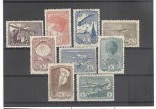Russia 1938 Airplane Balloon Zeppelin Parachute Etc Mint LH Set