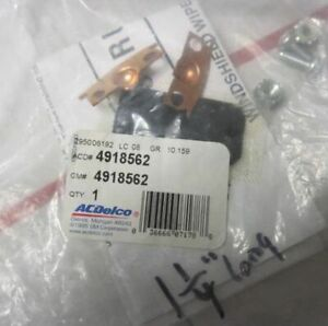 """NOS GM AC DELCO Wiper Linkage Clip Kit  IN ORIGINAL PACKAGE # 4918562  1 1/4"""""""