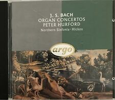 J.S BACH : ORGAN CONCERTOS / PETER HURFORD / NORTHERN SINFONIA - [ CD ALBUM ]