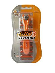 Bic 3 Hybrid - 3 Blade Shaver - 6 Cartridges