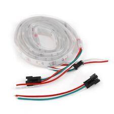 1M 30LED WS2812B 5050 LED Strip Light Waterproof Addressable White Shell op