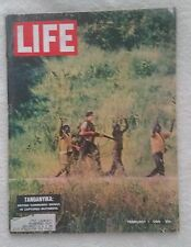 LIFE Magazine February 7, 1964; Tanganyika - RARE FIND!!
