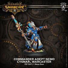 Warmachine: Cygnar Commander Adept Nemo Warcaster PIP 31071