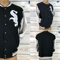 Rare Vintage 80s Majestic Chicago White Sox MLB Varsity Jacket Baseball Mens M