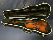 Scherl & Roth 4/4 Violin R101 E4 with Case and 2 Bows C4