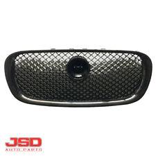New BLACK Plastic Center Grill Grille For 2009-2011 Jaguar XF 2010-2011 XFR