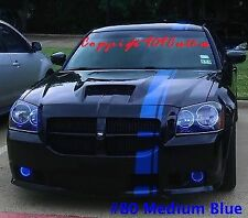 Dodge Magnum Mopar Style Racing Stripes Any Color 26 feet Graphic Decal