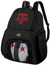 Texas A&M Aggies Soccer Backpack - Texas A&M Volleyball Bag -SIDE SHOE POCKETS!
