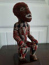 African Art. Bamileke Beaded Statue