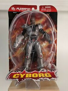 "DC Direct Toys Flashpoint CYBORG 6"" in Action Figure JLA"