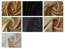 """Natural Pure 100% Washed Linen Fabric Material -7 Colours - 54"""" (137cm) Wide"""