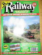 Railway Magazine. December  1991.