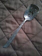 Vintage South Seas Community Silver Plate Silverware, Olive Spoon