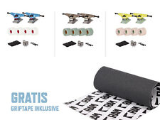 RAM Longboard Setup Gratis Griptape Achsen Achse Trucks Rollen Skateboard