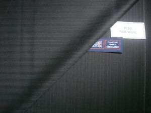 """100% WOOL """"Vintage"""" SUITING FABRIC = 330 g/m. = MADE IN ENGLAND – 3.38 m."""