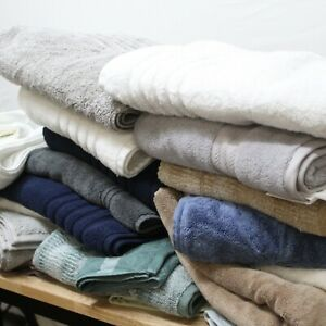 Hotel Collection ASSORTED Towels LOT Bath Hand Sheets Washcloths Over $200 MSRP